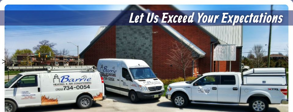 Let Us Exceed Your Expectations | Service van